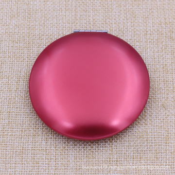 Cheapest Metal Aluminium Round Makeup/Compact/Pocket /Cosmetic Mirror with Custom Logo