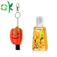 Halloween-serien Silicone Travel Hand Sanitizer Hållare