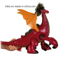 O dinossauro plástico brinca o dinossauro personalizado das figuras da fábrica animal do OEM
