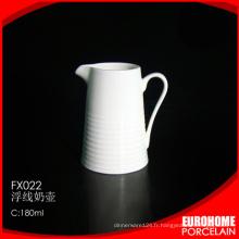 Hot vente 2016 guangzhou porcelaine céramique lait crémier