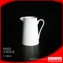 hot sale 2016 guangzhou porcelain ceramic milk creamer