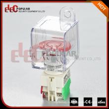 Электропопулярный Сделано в Китае Аварийная остановка Блокировка безопасности Отказ от нажатия Кнопка переключения электрического оборудования Блокировка