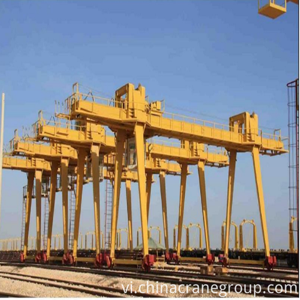 10-600TGeneral Purpose Double Girder Gantry Crane