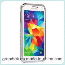 Luxusdimond-Metallstoßdämpfer für viele Farben Samsungs-Galaxie S5