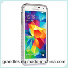 Luxury Dimond Metal Bumper for Samsung Galaxy S5 Many Colors