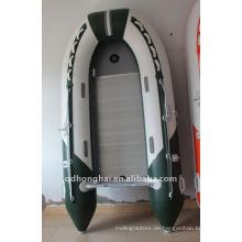 CE 300 aufblasbares Rettungsboot Sportboot mit pvc