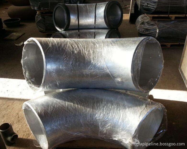 alloy steel butt weld pipe elbow