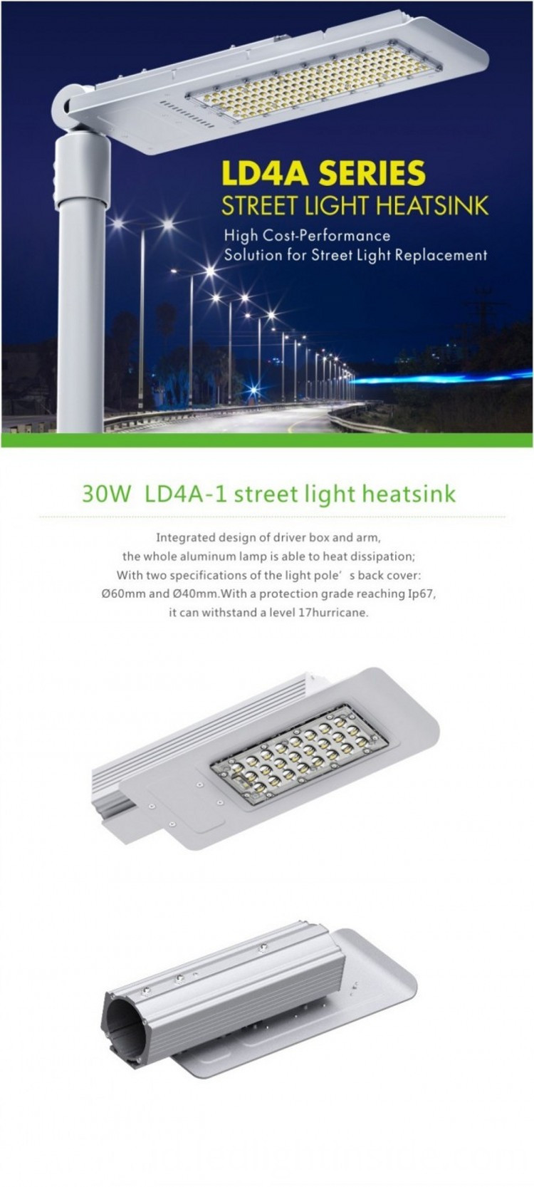 Shenzhen LED Street Light