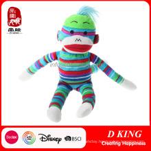 Colorful Plush Soft Toy Monkey Stuffed Animals Wholesale
