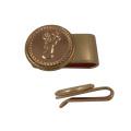 Hochwertige Messing Metall Golf Hut Clips mit Magneten