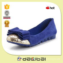 China factory OEM hot selling ladies casual big bow flexible flat shoes