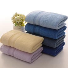 Einfarbig gefärbte Handtuch Sets Reise Werbe Handtuch Anzug