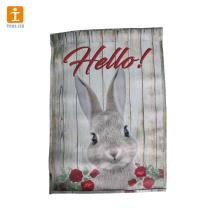 Kundenspezifische Gartenflagge und -fahne für die Werbung und Dekoration
