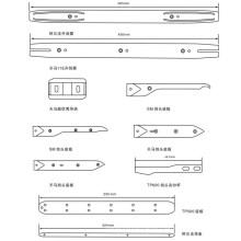 Alpha  Opener/Guide Strip/Thema 11e 450mm/Thema Guide Plate