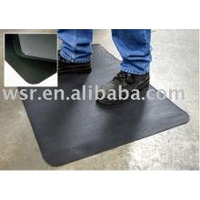 almofada de borracha antiderrapante e tapete de borracha para uso industrial