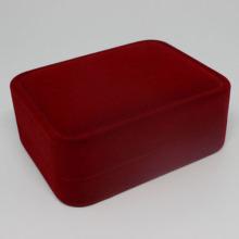 Hurtownia niestandardowych pudełek na biżuterię aksamitną