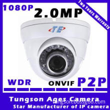 1080P smaller size conch H.264 Network Security Dome CCTV Camera