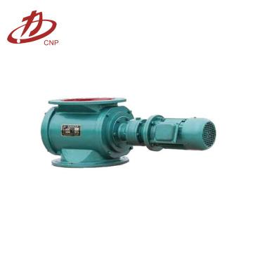 Válvula rotativa eléctrica de acero al carbono industrial