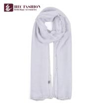 Los artículos más populares de HEC Las mujeres imprimieron la bufanda de poliéster larga lisa