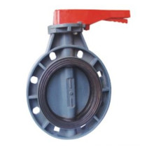 Plastic Butterfly Valve with Lever Operator