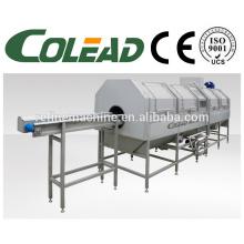 SUS304 de arena de acero de vástago precooking máquina / hoja vegetal blanqueador de la máquina / vegetal blanqueador de la máquina