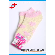 cheap price cozy warm girl's teen ankle socks custom logo