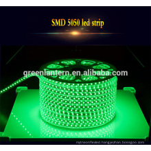 Outdoor Ip65 Waterproof flexible 5050 led light strip with factory price