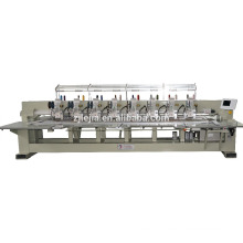 6 head embroidery machine mixed with twin sequin simple coiling