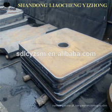 China fornecedor cnc chama placa de aço de corte