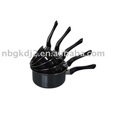 Enamel cookware pan sets