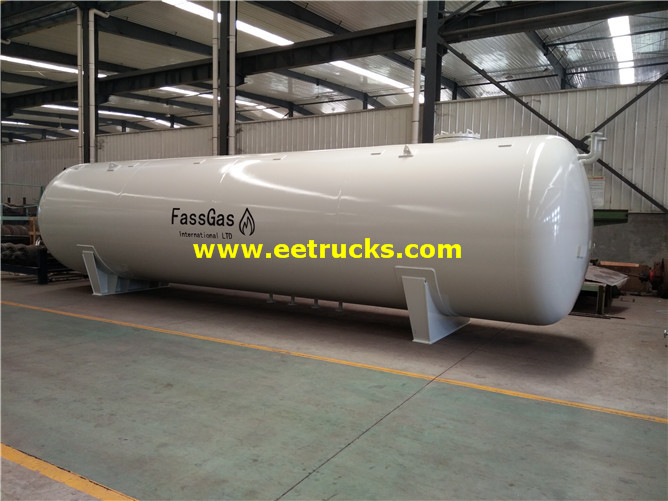 10000 Gallons Aboveground Propylene Gas Vessels