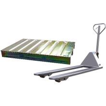 Продать онлайн складское складское хранение пластиковая тележка для поддонов