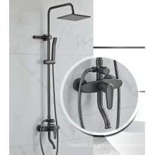 G676A Black bathroom shower antique shower faucet set rain shower set faucet