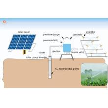 Approvisionnement professionnel d'usine outre du système de pompage solaire de grille