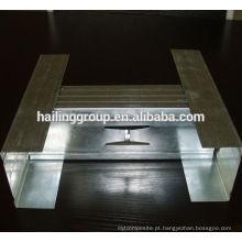 150 * 40, fábrica fabrica pregos e trilhas do metal do Drywall Rolo que dá forma à máquina, parafusos prisioneiros e trilhas de alta qualidade do metal do Drywall