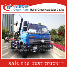DongFeng 12m3 garbage skip loader truck