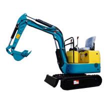 Escavadeira hidráulica das máquinas 0.8T 1T mini