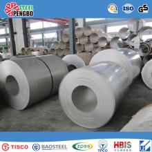 Bobina de aço inoxidável laminada a alta temperatura / laminada a frio de 2b / Ba
