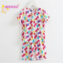 2015 high quality soft kids pajamas for kids nightclothes boy girl baby
