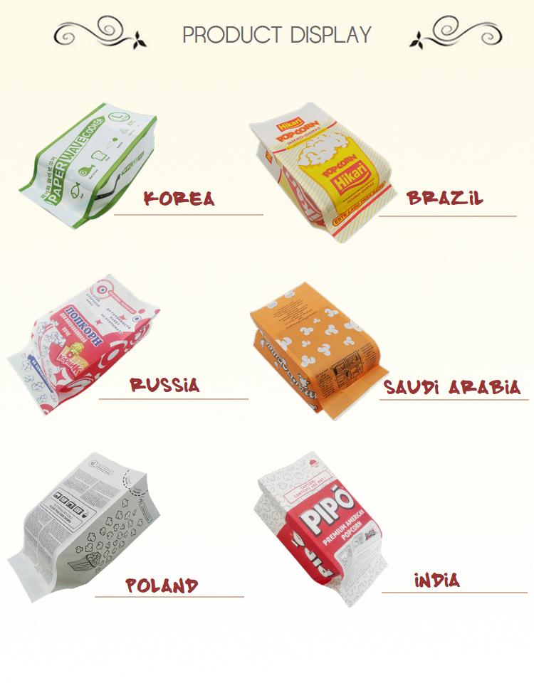 popcorn paper bags