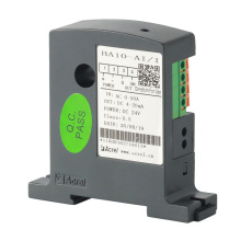 Transductor de monitoreo de corriente de instalación en carril DIN