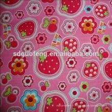 En gros coton imprimé tissu 100% coton tissu ensemble de literie lin tissu pour la maison linge de lit feuille en rouleaux