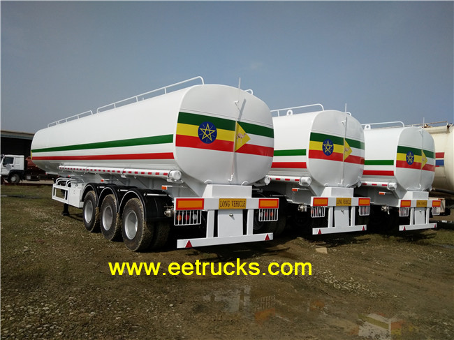 Chusheng 50000 Litres Fuel Tank Trailers