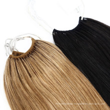 Wholesale Russian Hair Extensions Virgin Remy Human Hair No Tip Feather Hair Extension