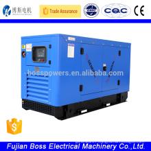 50hz 230V Quanchai silent type brushless diesel generator 20kw