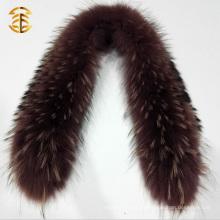 Kundenspezifische Qualität Real Raccoon Hood Custom Pelz Trim
