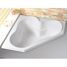 "60 ""X 60"" Corner Alcove Acrylic Bath"