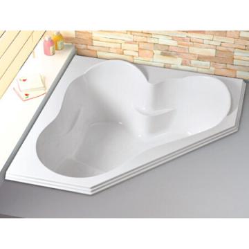 """54"""" X 54"""" Corner Drop-in Alcove Bath"""
