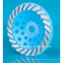 Schleifendes Diamantschalenrad für Betonschleifen und Polieren