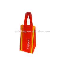 80% Утилизируется нетканые вина мешок хозяйственная сумка с шелкография